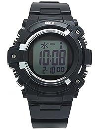 [アリアス] 腕時計 デジタル 電波 ソーラー メンズ ブラック WT13003RCSOL11
