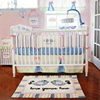 My Baby Sam Love Grows Here Crib Bedding Set by My Baby Sam