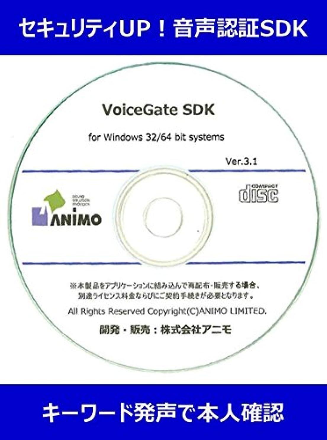 ビデオ少なくとも故意のVoiceGATE V3 Windows版 SDK