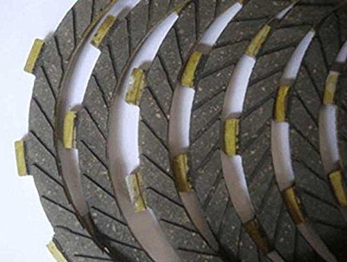 カワサキ kawasaki クラッチ 板 ディスク 5枚 8枚 各種 セット 社外品 汎用 バイク メンテナンス 用品 ゼファー 400 GPZ400 ZZR400 等 (5枚セット)