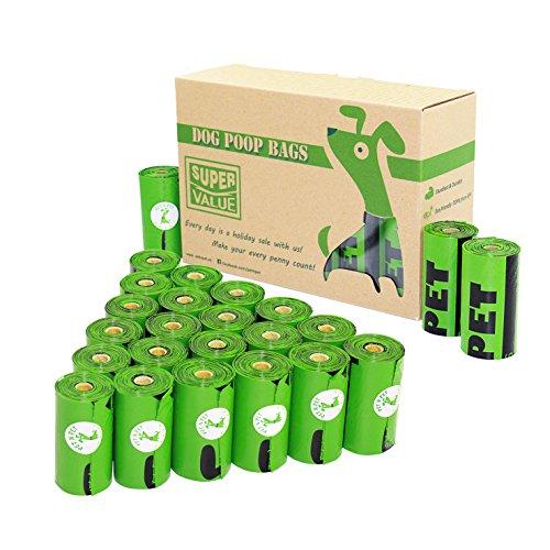 エヌ ペット (PET N PET) うんち処理袋 うんち袋 ゴミ袋 グリーン 20ロール(360枚入り) …