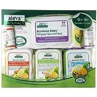 Aleva Naturals Bamboo Baby Wipes Gift Set 6 ea by Aleva Naturals [並行輸入品]