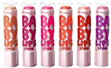 Maybelline Limited Edition Baby Lips CRYSTAL (Complete Set of 6) (並行輸入品)
