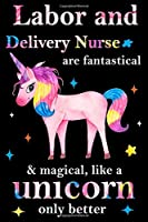 Labor and Delivery Nurse are fantastical & magical, like a unicorn only  better, employee appreciation notebook: unicorn notebook, appreciation gifts for  coworkers with Lined and Blank Pages