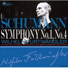 Delta フルトヴェングラー指揮 シューマン:交響曲第1番《春》&交響曲第4番の商品写真