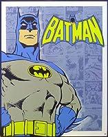 ブリキ看板 プレート BATMAN (バットマン / ブルー) [並行輸入品]