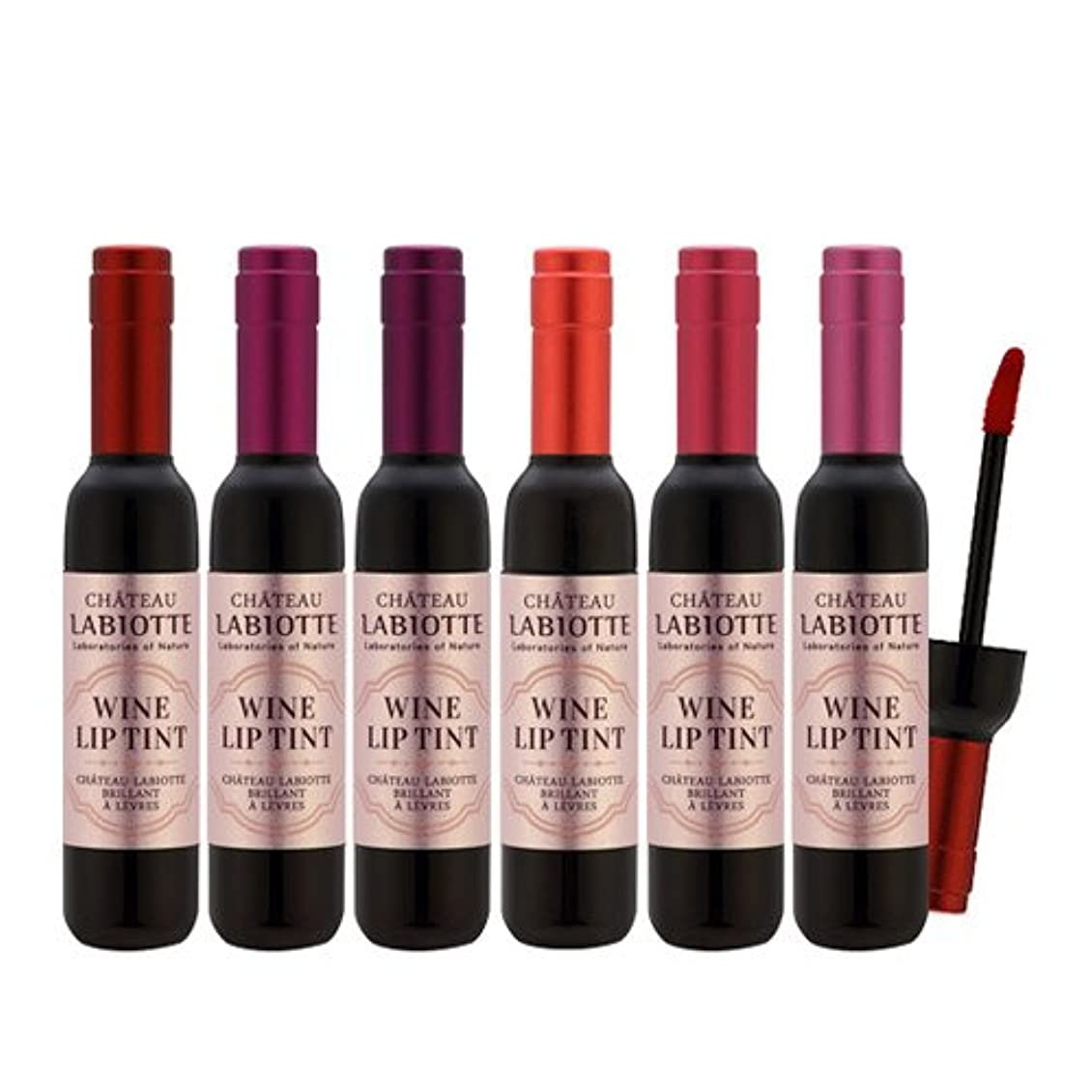 チャールズキージング慰め記念碑的なラビオトゥ(LABIOTTE) ワイン?リップ?ティント (LABIOTTE Wine Lip Tint) (RD01 シーラーズレッド)[並行輸入品]
