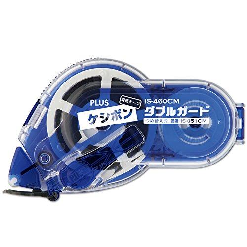 プラス 個人情報保護テープ 両面テープケシポン ダブルガード 幅15mm×長さ12m 39-178