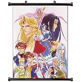 Angeliqueアニメファブリック壁スクロールポスター( 32x 46)インチ。[ WP ] angeliq-21( L )