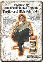 High Point Coffee ティンサイン ポスター ン サイン プレート ブリキ看板 ホーム バーために