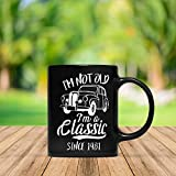 「I Am Not Old I Am A Classic Since 1981」愉快な37歳の誕生日ギフトマグカップ、男性、女性、1981マグ、37歳の誕生日ギフト、ビンテージ1981マグ、1981年にマックス&Moriによって誕生しました。