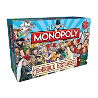 Monopoly Horrible Histories Monopoly Board Game (輸入版)