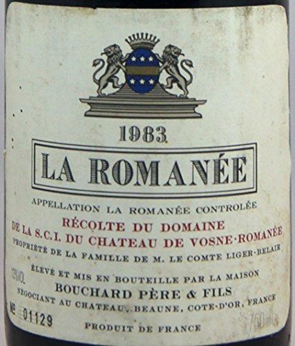 La Romanee Bouchard Pere&Fils 1983 ラ・ロマネ ブシャール