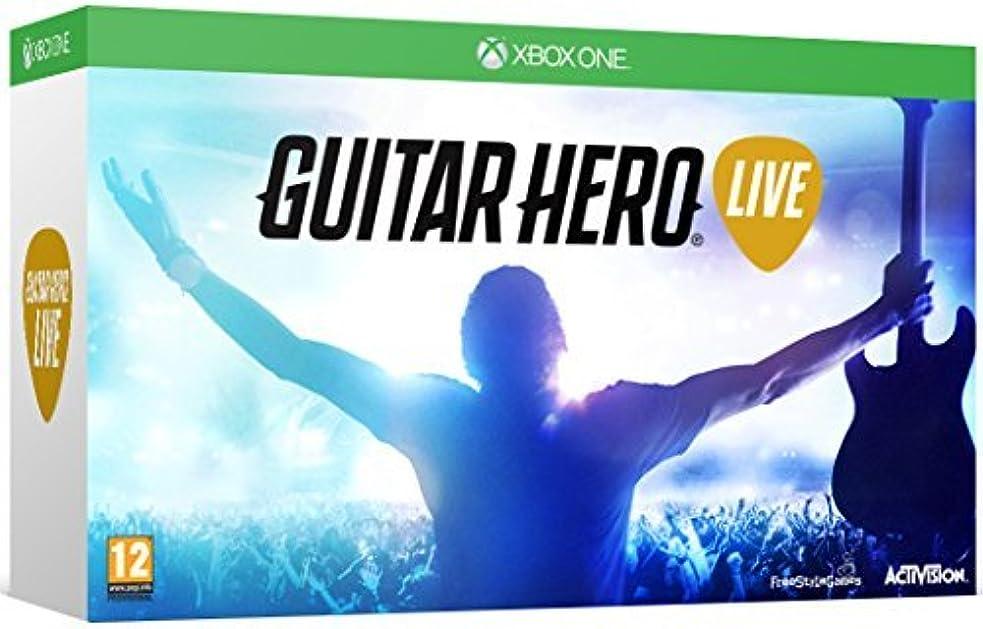 侵入するたるみ手術Guitar Hero Live with Guitar Controller (Xbox One) by ACTIVISION [並行輸入品]
