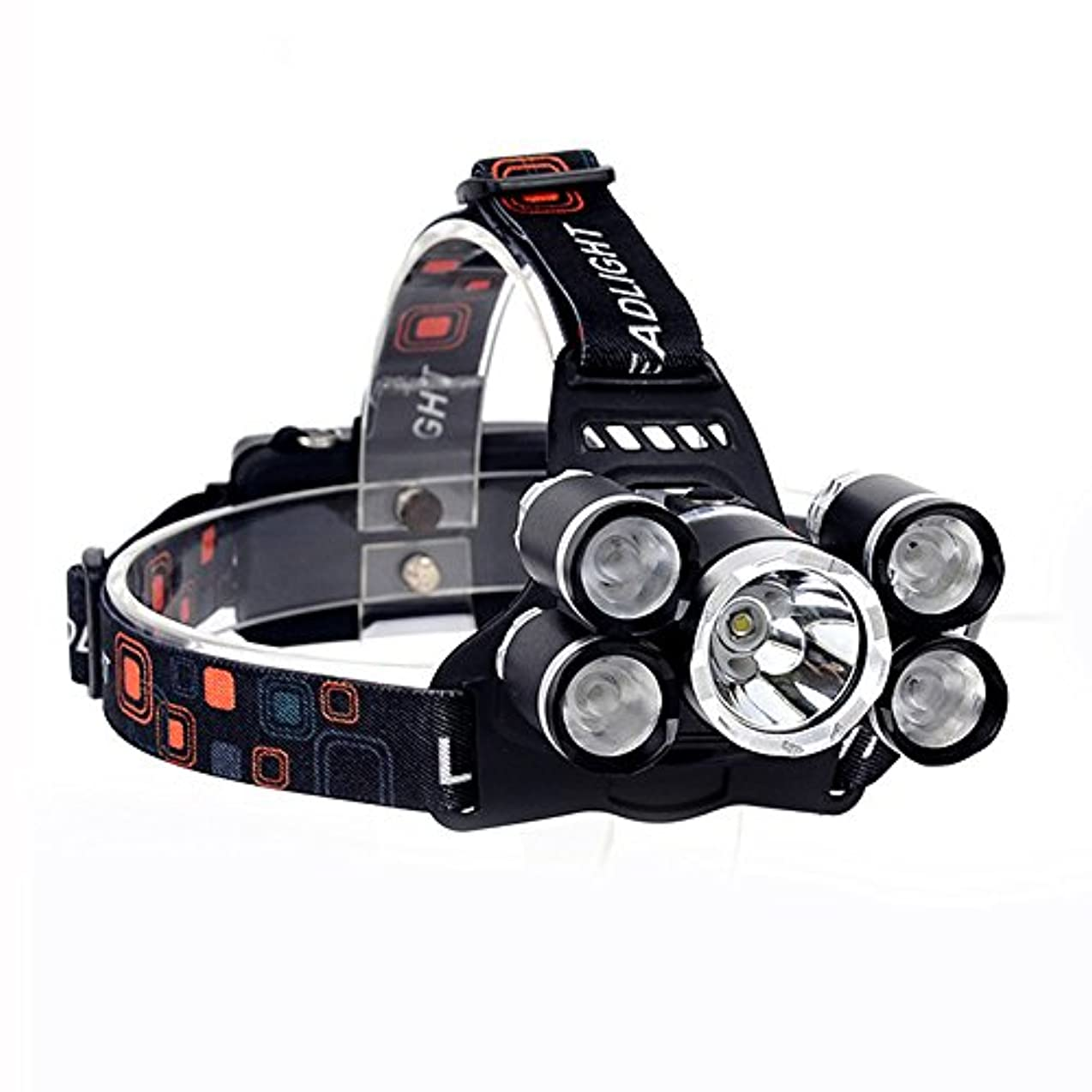 良心的対角線ヒューズXIAOBUDIAN 15000Lm LEDヘッドランプXML T6 + 4R5ヘッドランプ充電式18650ヘッド懐中電灯トーチキャンプフィッシングランタン