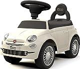 乗用玩具 フィアット500 FIAT500 足けり乗用/乗用玩具/押し車/ST玩具/乗物玩具/手押し玩具/足けり/おもちゃ/のりもの (ホワイト)