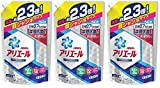 【まとめ買い】アリエール 洗濯洗剤 液体 イオンパワージェルサイエンスプラス詰め替え 超ジャンボ1.62kg×3個
