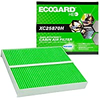 EcoGard XC25870H 高効率プレミアムキャビンエアフィルター + ベーキングソーダ ドッジ グランドキャラバン用 | クライスラー タウン&カントリー | インフィニティ G37 QX80 M35 Q50 QX50 | フォルクスワーゲン ルータン | 日産タイタン