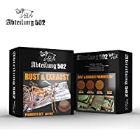 Abteilung 502 Rust and Exhaust Pigment Set