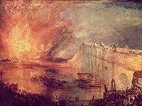Lais Puzzle Joseph Mallord William Turner - 国会議事堂の火 200 部