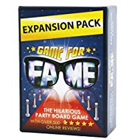 Game for Fame Expansion Pack: 130 Hilarious New Money Maker Challenge Cards to use with Game for Fame, the Board Game for Families, Friends, Adults, Teens! [並行輸入品]