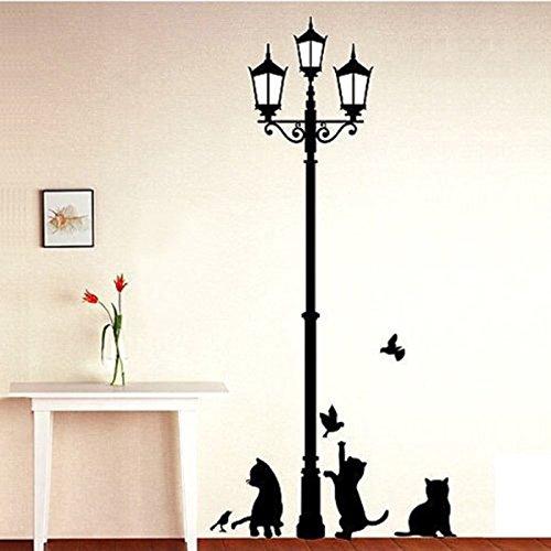 ウォールステッカー 壁飾り ウォールシール かわいい猫 壁紙...