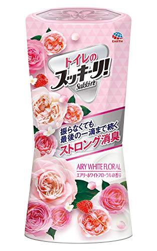 アース製薬 トイレのスッキーリ! Sukki-ri! エアリーホワイトフローラルの香り 400mL