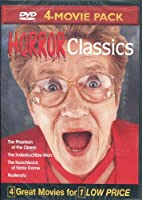 Horror Classics Volume 8: The Phantom of the Opera, The Indestructible Man, The Hunchback of Notre Dame, Nosferatu