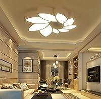 シンプルなモダンなリビングルームライト大気LEDシーリングランプクリエイティブパーソナリティベッドルームライト (サイズ さいず : 78x70cm-72w)