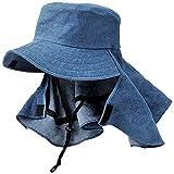 PASEO 帽子 デニムガーデンハット 07-01