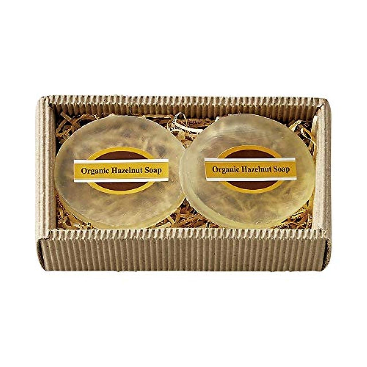 シャンパン適度に移行オーガニックヘーゼルナッツソープ オーガニックヘーゼルナッツ ソープ MOSK040