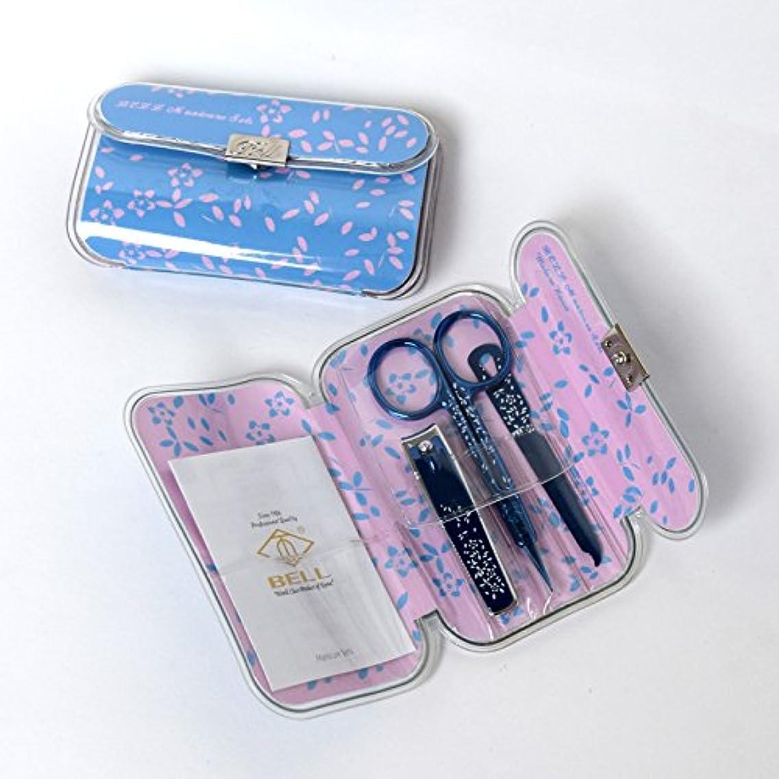 つかむリル野心BELL Manicure Sets BM-330F ポータブル爪の管理セット 爪切りセット 高品質のネイルケアセット高級感のある東洋画のデザイン Portable Nail Clippers Nail Care Set