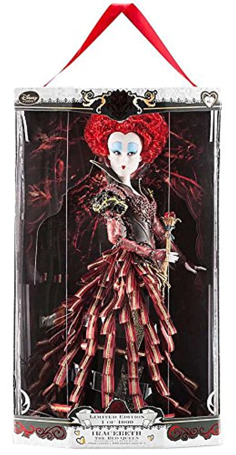 Disney Store Alice Through The Looking Glass Limited Edition Designer 17 Dolls - Alice & The Red Queen LE 4000 by Disney
