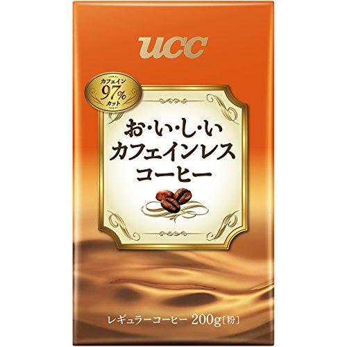 UCC おいしいカフェインレスコーヒー VP200g