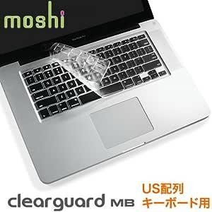 moshi clearguard MB (USキーボードモデル) 0.1m 洗浄可 英語配列