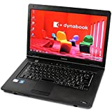 東芝 TOSHIBA dynabook Satellite L35 220C/HD Celeron 2GB 160GB DVDスーパーマルチ 無線LAN 15.6型液晶 Windows7 中古 中古パソコン ノートパソコン