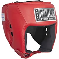 Contender Fight Sports CompetitionボクシングムエタイMMAスパーリングヘッド保護Headgear without Cheeks