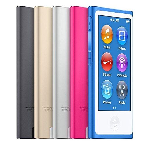 Apple iPod nano 16GB スペースグレイ 第7世代 本体 + 汎用USB充電ケーブル セット (スペースグレイ)