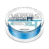 VARIVAS(バリバス) PEライン ハイグレードPE X4 150m 0.6号 10lb ウォーターブルー