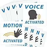 [ウィッティイエティ]Witty Yeti Voice & Motion Activated Prank Stickers, 50 Pack. Make Your Friends Publicly Yell & [並行輸入品]