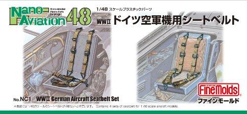 1/48 ナノ・アヴィエーション WWII ドイツ空軍機用 シートベルト