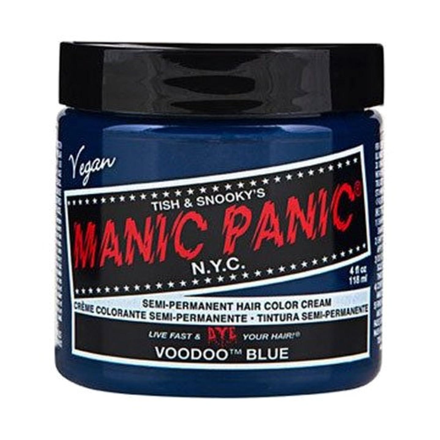 濃度リボン明日マニックパニック カラークリーム ブゥードゥーブルー