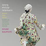 テレマン : チェンバロ独奏曲集 他 (Georg Philipp Telemann : ceuvres pour clavier (Works for Clavier) , ouverture concerto fantaisies chorals / Olivier Baumont) [輸入盤]