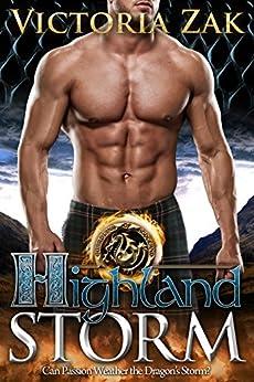 Highland Storm (Guardians of Scotland Book 2) by [Zak, Victoria]