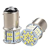 GOSMY 54LED 3014SMD(S25 1157 BAY15D P21) 12-24V 1080LM ホワイト 6000K-6500K 応用 LEDランプ 一年品質保証 2個入
