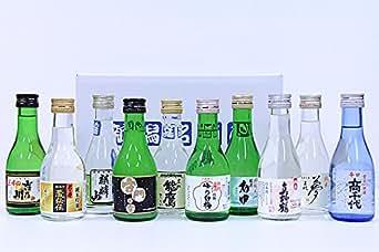 酒類鑑評会最優秀賞「君の井」も入ってます!ギフトに最適 新潟の日本酒180ml×10 飲み比べセット