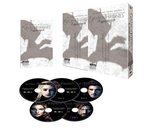 ゲーム・オブ・スローンズ 第三章:戦乱の嵐-前編- DVD コンプリート・ボックス (5枚組)の詳細を見る
