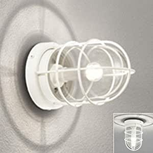 ODELIC(オーデリック) 【工事必要】 エクステリア・LEDポーチライト オフホワイト:OG041761LC