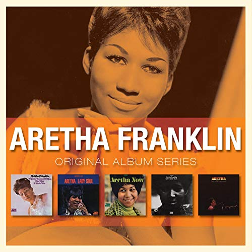 5CD ORIGINAL ALBUM SERIES BOX SET/ARETHA FRANKLIN - ARETHA FRANKLIN(アレサ・フランクリン)