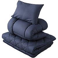 东京西川 被褥套装 单人 凹凸床褥 被子 枕头 SEVENDAYS